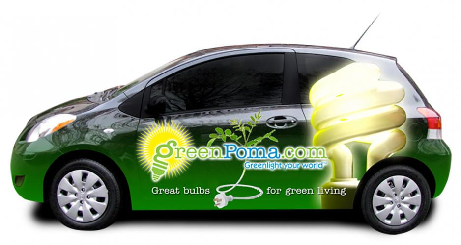 Vehicle Wrap Design - GreenPoma.com
