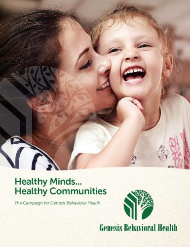 Brochure Design - Genesis Behavioral Health