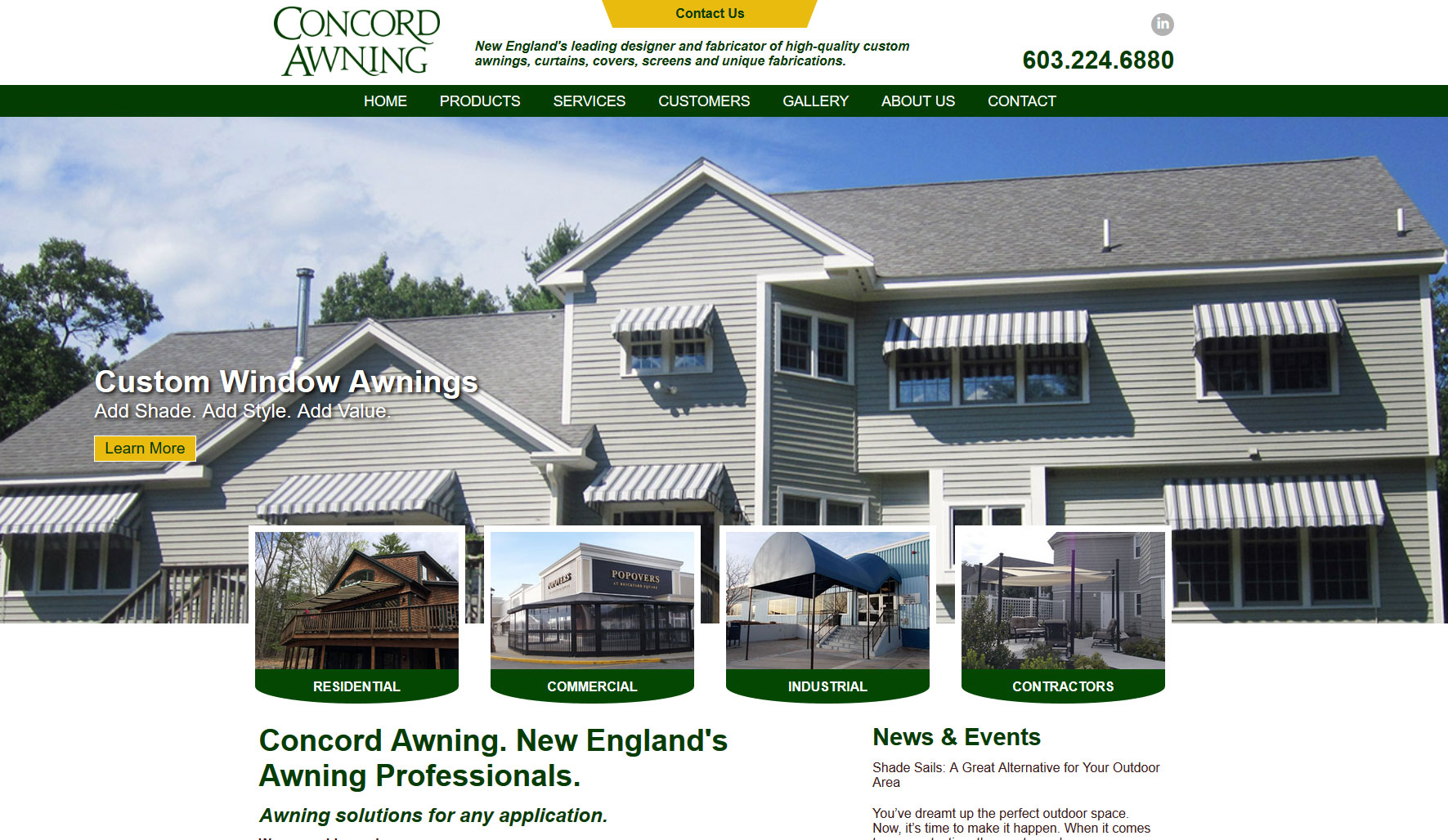 Concord Awning