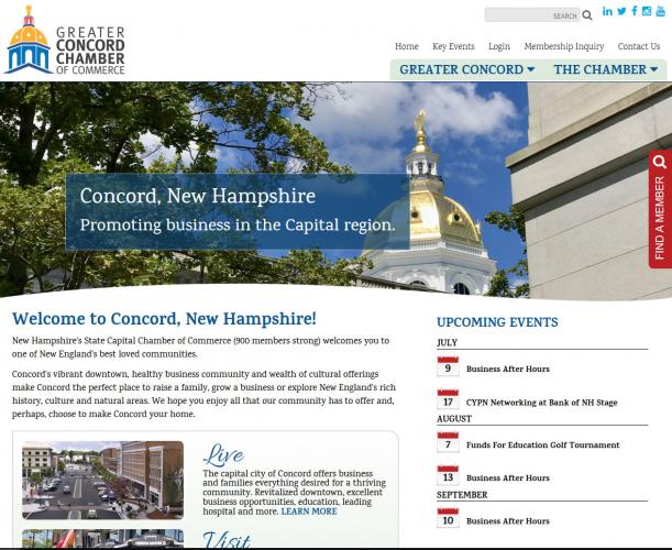 Concord NH Chamber of Commerce